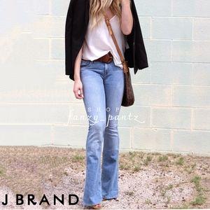 J Brand Martini Mid-Rise Flare Jeans 25 Eternal
